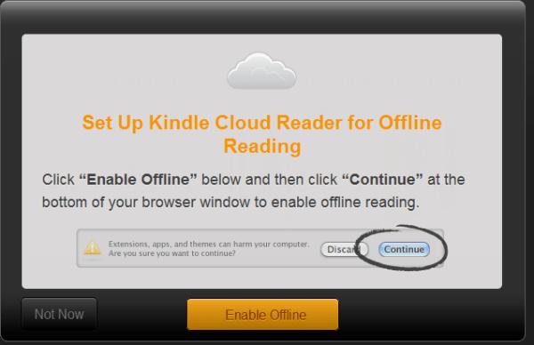 Install Kindle Cloud Reader