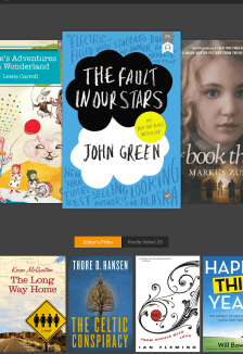 amazon kindle - 10 Best Android Apps for Book Lovers