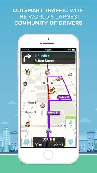 top navigation apps for ios - waze