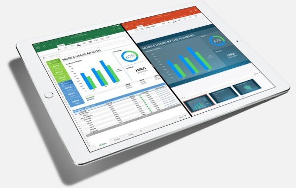 Office Apps on the iPad pro