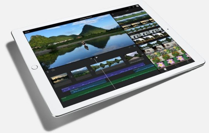 iMovie on the iPad Pro