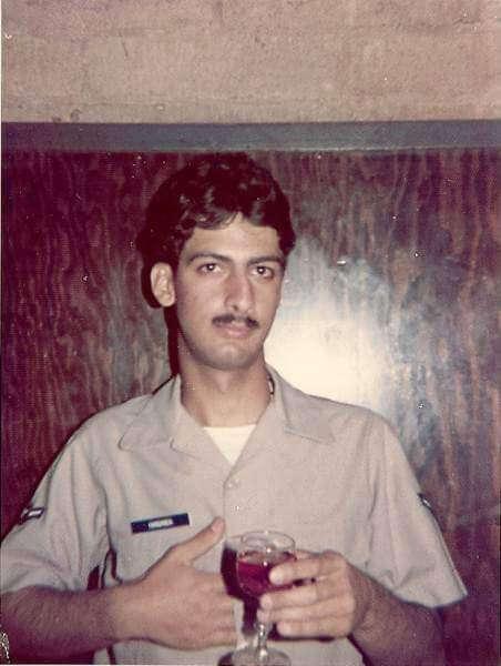 HananiaAirForceShepherdAFB1974