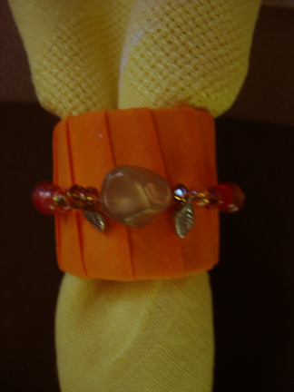 Orange Napkin Ring
