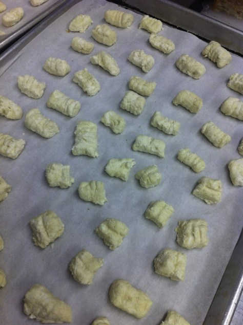 Freeze the gnocchi for 30 minutes
