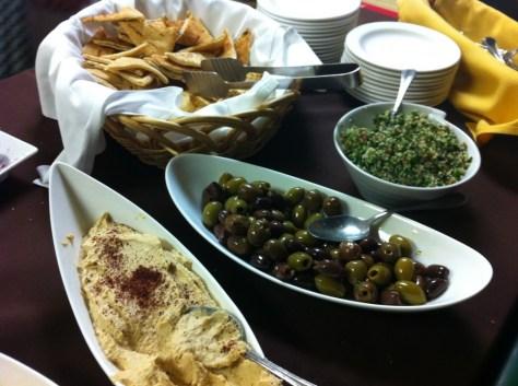 Mediterranean Snacks