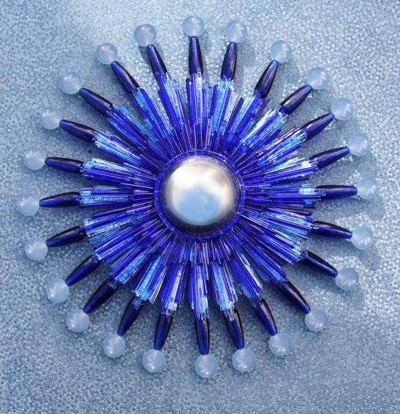 Werther Blue Convex Mirror