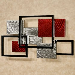 Alluring Sale Geometric Metal Abstract Wall Art Tag Most Metal Abstract Wall Art Abstract Wall Art Red Black Blue Abstract Wall Art Articles