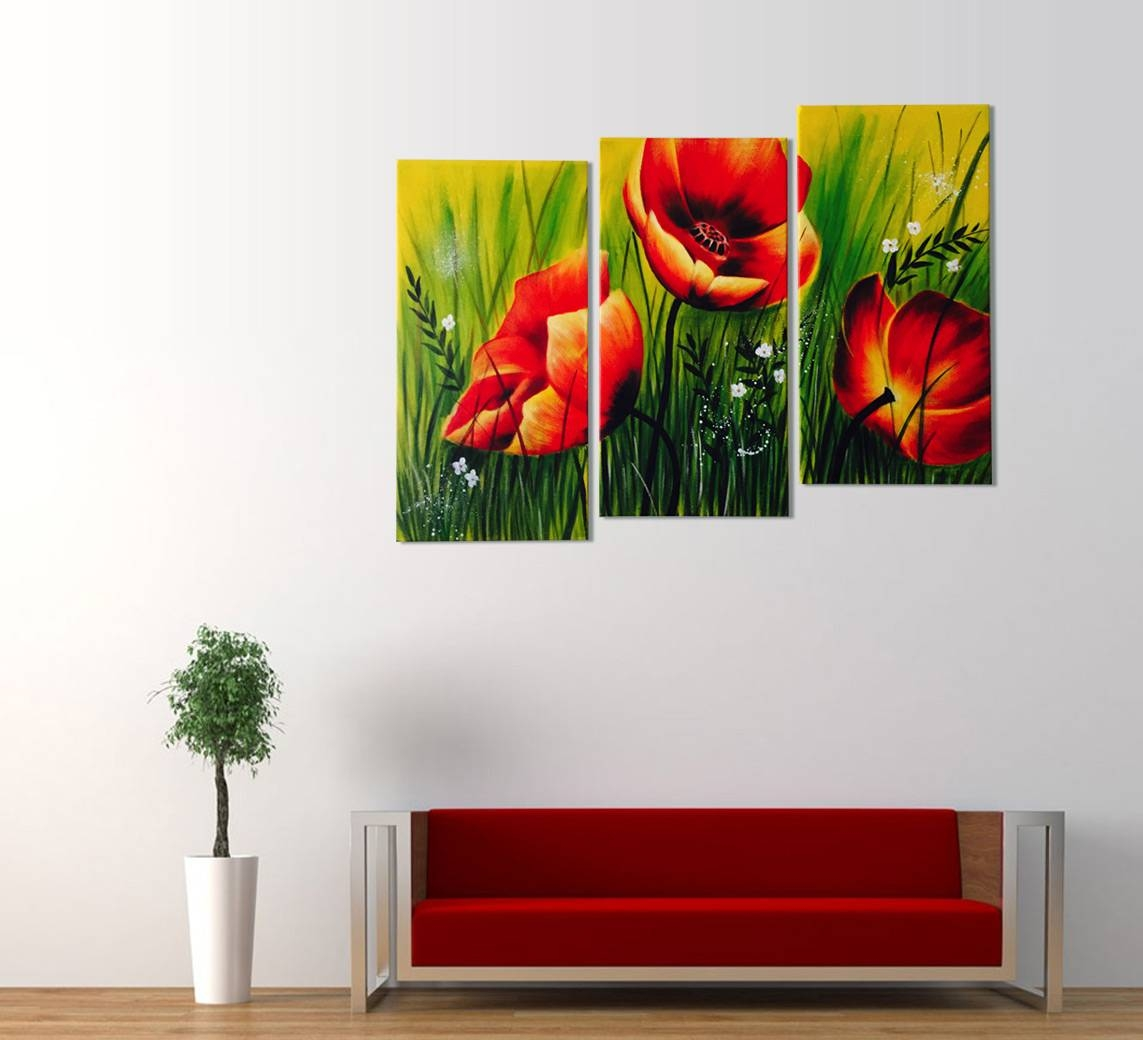 Endearing Latest Pieceabstract Wall Art 2018 Latest Piece Abstract Wall Art 3 Piece Wall Art Walmart 3 Piece Wall Art Nature Red Poppies Floral Acrylic Painting Piece Wall Art art 3 Piece Wall Art