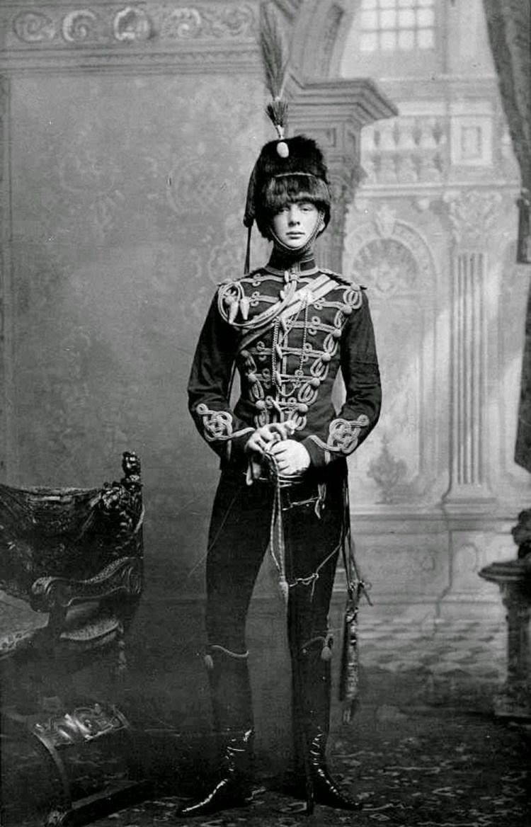 Churchill en 1895.