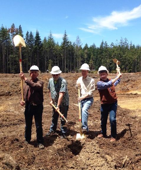 In this photo (L-R) Councilmember Scott Deitz; Councilmember Doug Hammerstrom; Supervisor Dan Gjerde; Mayor Dave Turner.