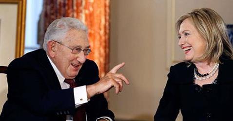 Kissinger&Hillary