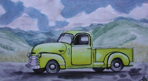 1950 Chevrolet 3100, 1/2 ton pickup, factory price $1,243