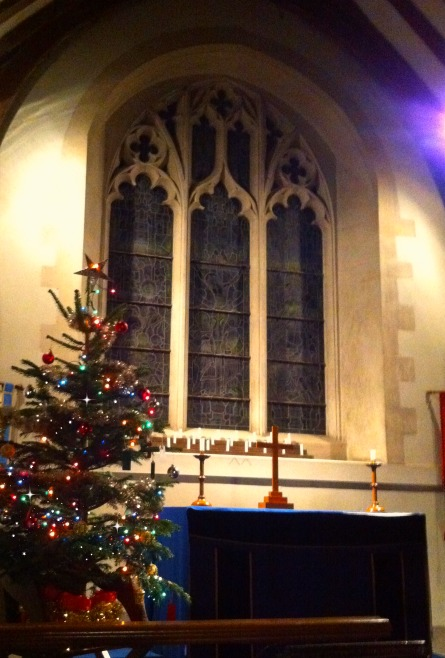 Christmas tree in St. Mary's