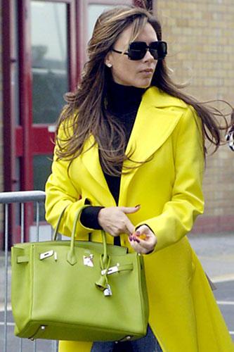 white birkin bag - Victoria Beckham $2 Million Dollar Collection Of Hermes Handbags ...