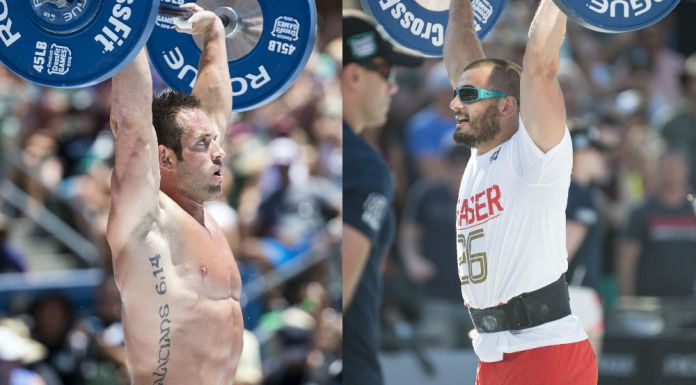 Rich Froning and Mat Fraser