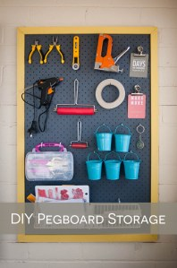 DIY Pegboard tutorial