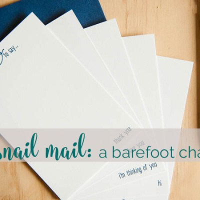 a year-long send-more-mail challenge