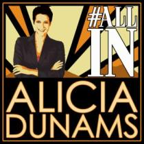 Alicia Dunams All In Logo