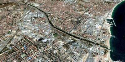 Google earth - S.Adria de Besos