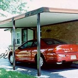 Lean-To Carport – Building Instructions and Plans