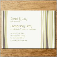 Invitations - Anniversary Invitation 4