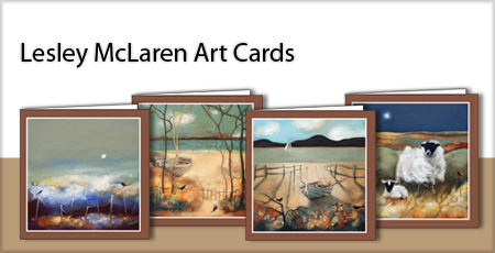 Lesley McLaren Art Cards | Greeting Cards from Lesley McLaren at The Bay Attic