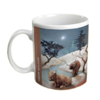 highland-cows-under-a-snowwy-sky-mug-from-artwork-by-lesley-mclaren