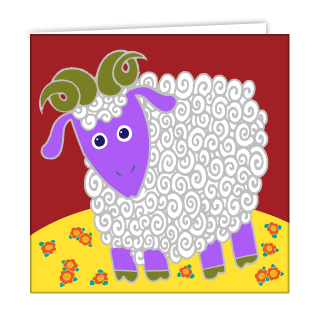 ram-greeting-card-by-anf