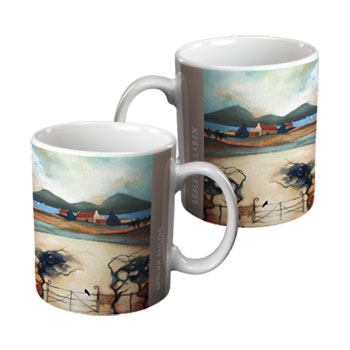 autumn sailing gift mug