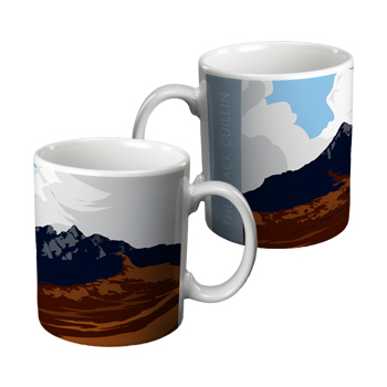 The Black Cuillin Ceramic Gift Mug