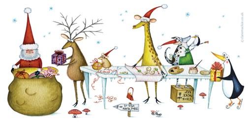 Claire Mackie - Santas Helpers - Flat Artwork