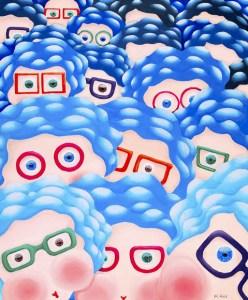Blue Rinse Brigade by Marion Adie