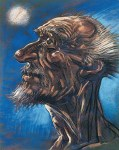 Don Quixote, the Good Man - Open Edition Lithograph Art Poster by Peter Howson
