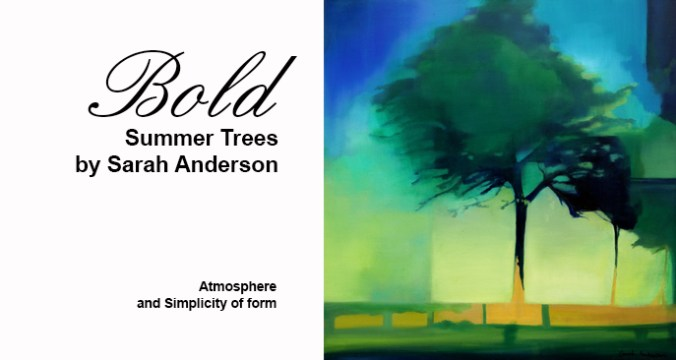 Summer Trees by Sarah Anderson