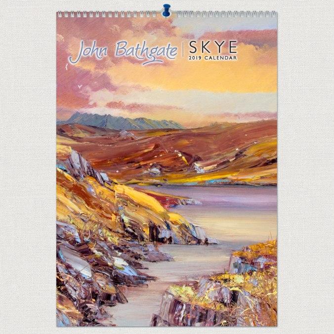 John-Bathgate-2019-A3-Calendar-front