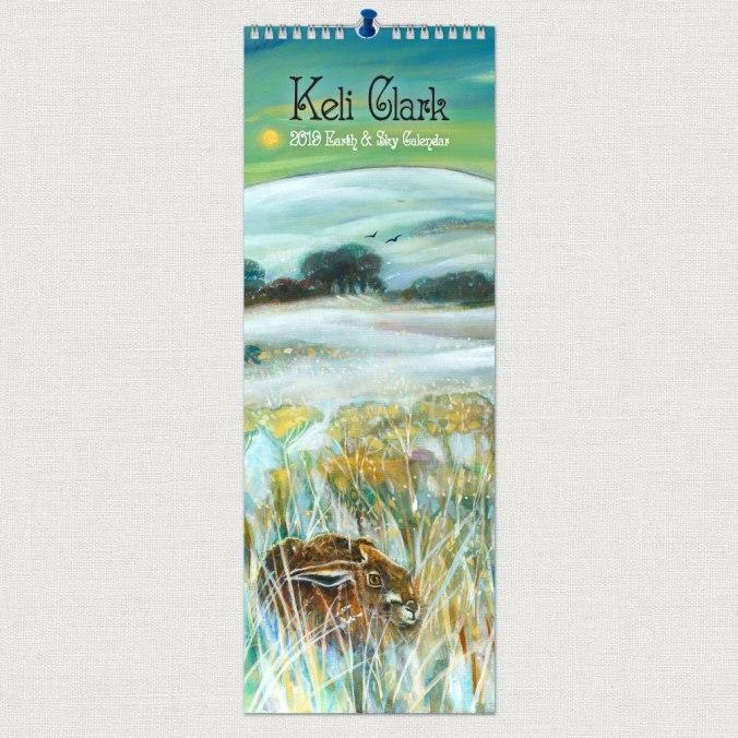 Keli-Clark-2019-Slimline-Pagna-Calendar-Front