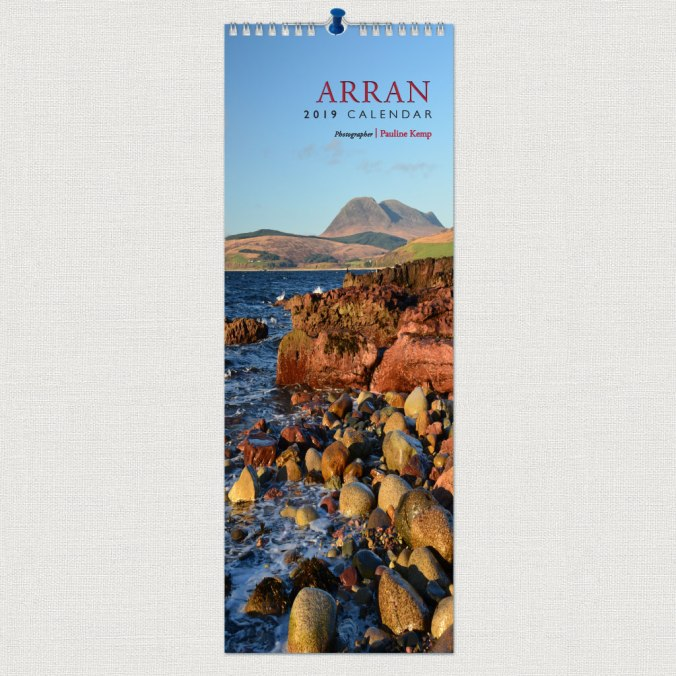 Pauline-Kemp-Arran-2019-Slimline-Calendar-front