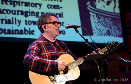 Photos:  Difford & Tilbrook share Squeeze acoustic tracks at the Great American Music Hall