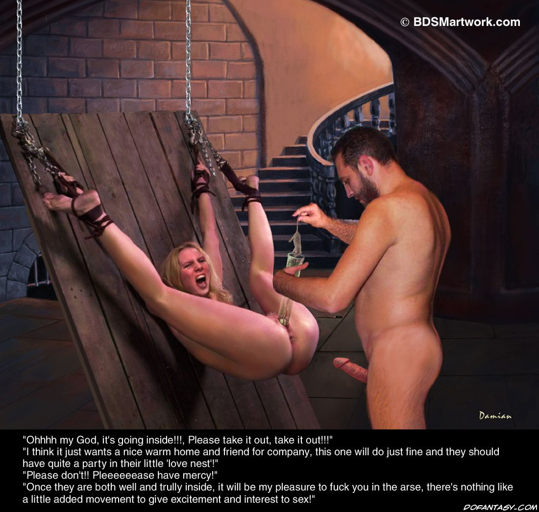 foot bondage artwork