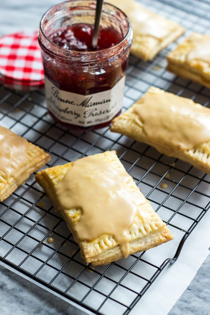 Homemade Peanut Butter and Jelly Pop-Tarts | The Beach House Kitchen