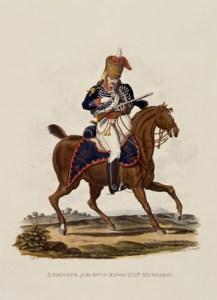 15th Regiment King Hussar 1812