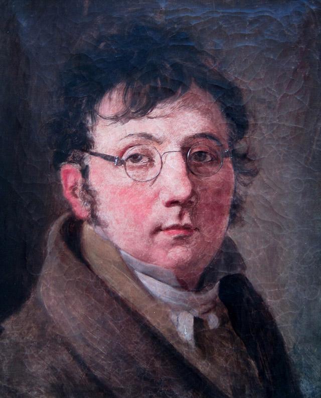 Portrait of Louis-Léopold Boilly