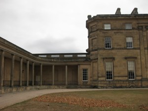 Courtyard of Attingham House