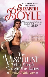 Cover for The Viscount Who Lived Down the Lane by Elizabeth Boyle