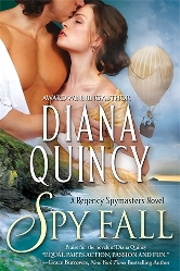 Cover for Spy Fall by Diana Quincy