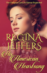 Cover image for Regina Jeffers's His American Heartsong