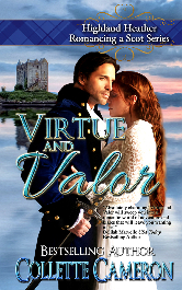 Cover image for Collette Cameron's Virtue and Valor