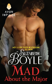 Cover image for Elizabeth Boyle's Mad About the Major