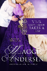 Cover image for Maggi Andersen's Lady Faith Takes A Leap