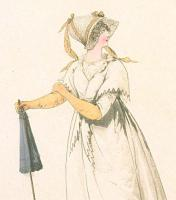 Capote Bonnet: Balloon Bonnet, Heideloff 1794-98